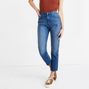 { Madewell } The Mom Jean